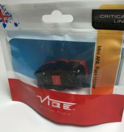 details about vibe critical link mini anl fuse holder clmanlf v7 100 amp car audio new [ 1000 x 1000 Pixel ]