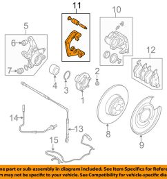 details about land rover oem 06 09 range rover disc brake caliper bracket sxp500060 [ 1000 x 798 Pixel ]