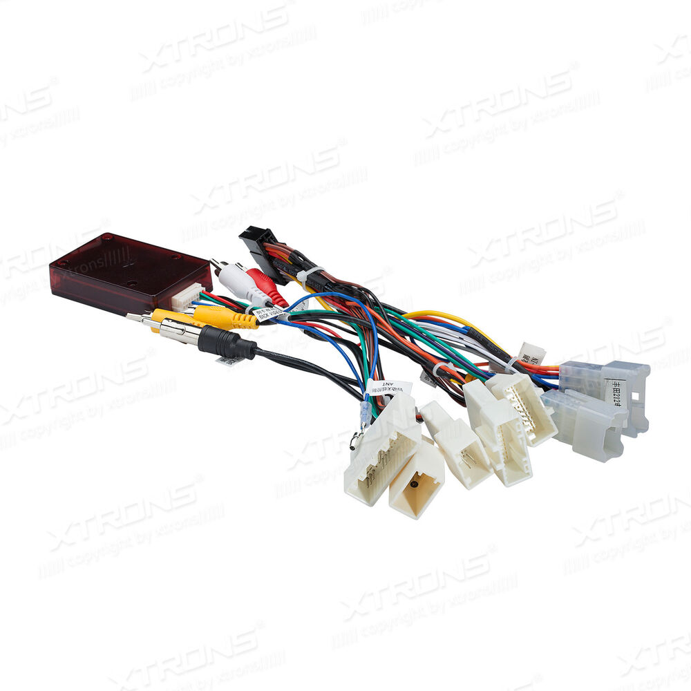 medium resolution of details about xtrons iso wiring harness canbus box for xtrons toyota unit fit for toyota