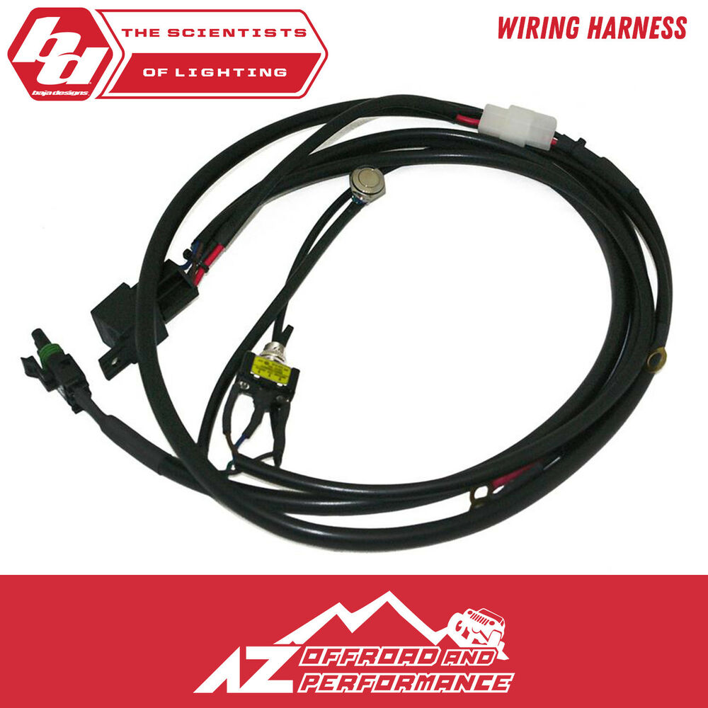 hight resolution of details about baja designs onx6 motorcycle wire harness 2 position toggle switch w mode