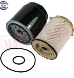 details about oil fuel filter for dodge ram 6 7l diesel 2013 17 2500 3500 4500 5500 cummins [ 1000 x 1000 Pixel ]