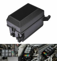 universal 6 way blade fuse box boat bus car 12v automotive holder universal fuse box with relay universal fuse box [ 1000 x 1000 Pixel ]