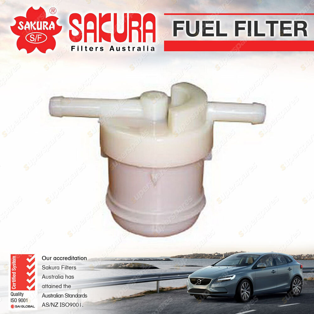 hight resolution of details about sakura fuel filter for mazda 323 astina protege familia bd bf bg bw fa ptrl 4cyl
