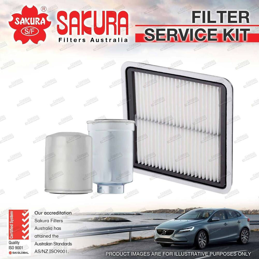 hight resolution of details about sakura oil air fuel filter service kit for subaru forester s4 sh9 2010 on