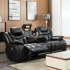 Home Theater Reclining Sectional Sofa Ashley Furniture Sofas Seating Power Recliner Details About