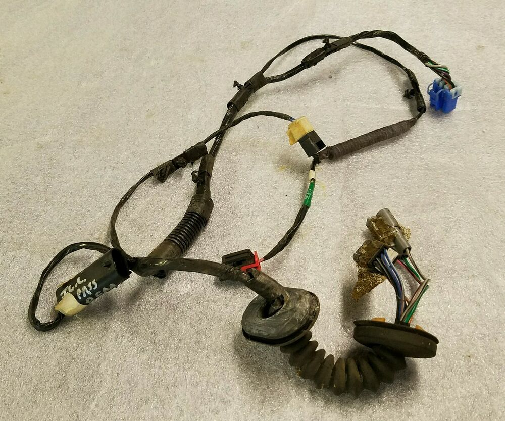 medium resolution of details about passenger rear door wiring harness jeep grand cherokee 1996 1997 1998 oem zj rt
