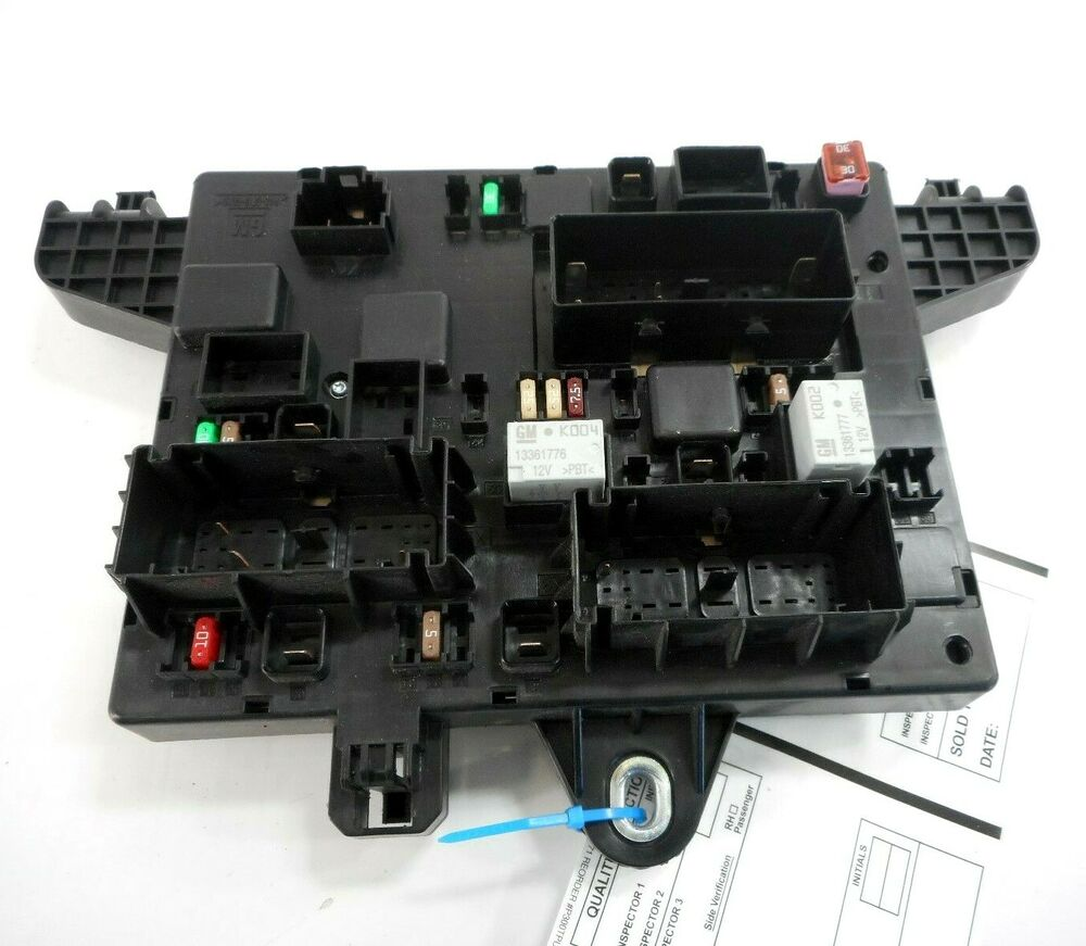 hight resolution of details about 14 buick verano fuse relay box fusebox oem 22798890