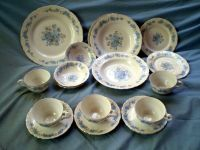 BOHEMIA CHINA, BOH6, Platinum Rim, REPLACEMENT DINNERWARE ...