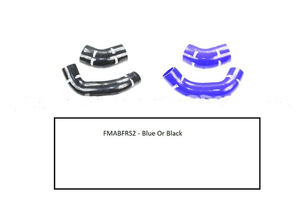 FORGE SILICONE AIR BOX HOSES FOR FORD FOCUS RS Mk2