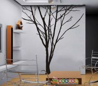 """Wall Decor Decal Sticker Removable large 84"""" tree trunk 