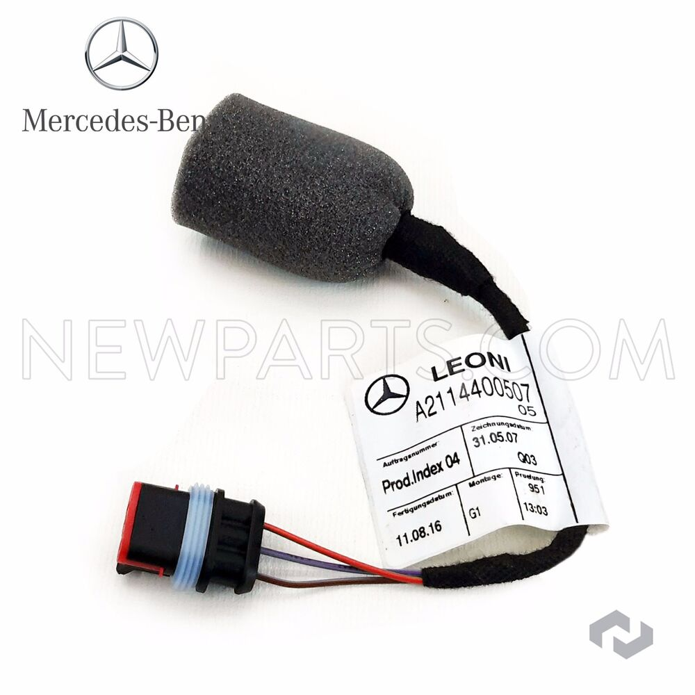 hight resolution of details about for mercedes w203 w209 w211 w219 cls500 fuel tank sender wiring harness genuine