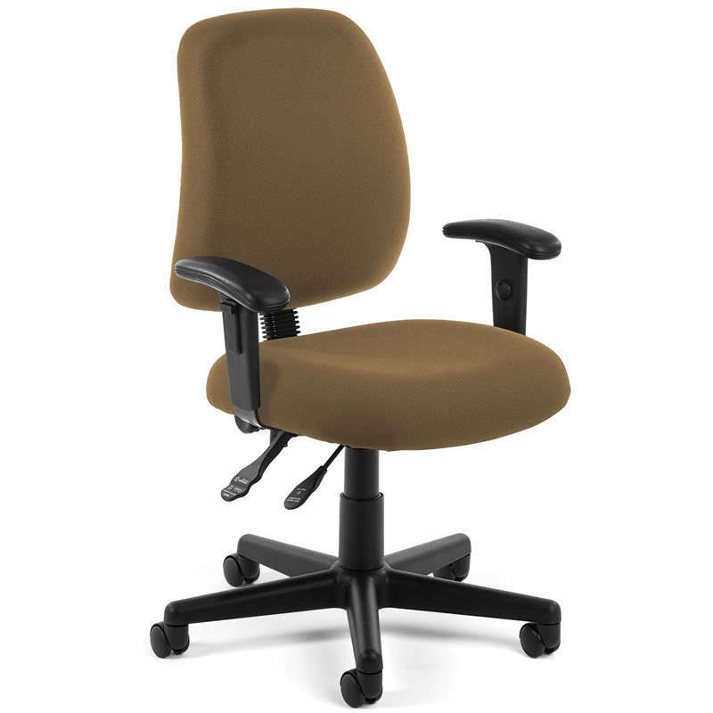posture chair ebay swing hammock outdoor taupe fabric ergonomic task office desk with arms |