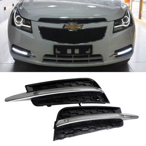 small resolution of details about switchback led daytime running lights turn signal bezels for 2011 14 chevy cruze