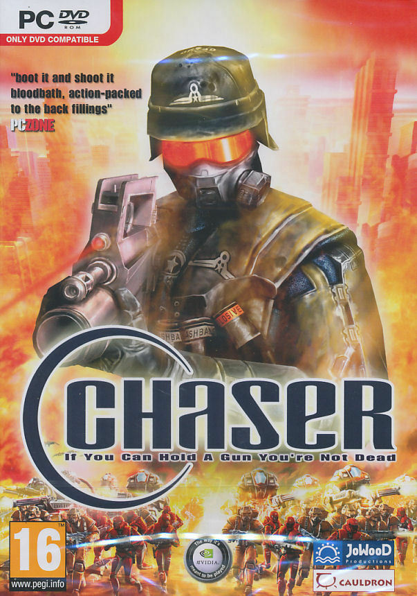 CHASER Futuristic Combat Shooter PC Game FPS US Seller