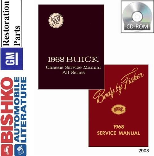 small resolution of details about 1968 buick riviera skylark special wildcat shop service repair manual cd guide