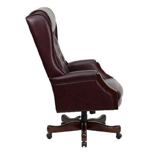 tufted leather executive office chair Leather Executive Chairs - KC-C696TG-GG High Back Tufted Leather Office Chair | eBay