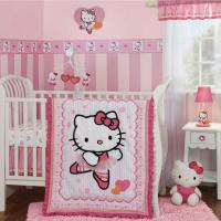 Hello Kitty Ballerina Cute Pink and White Baby Girls