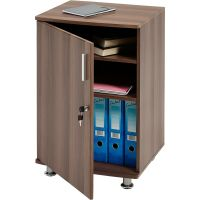 Home Office Desktop Extension Storage Cabinet with Lock ...