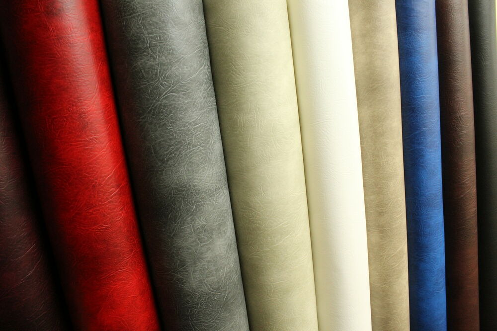 FAUX HIGH QUALITY LEATHER MATERIAL LEATHERETTE PVC VINYL