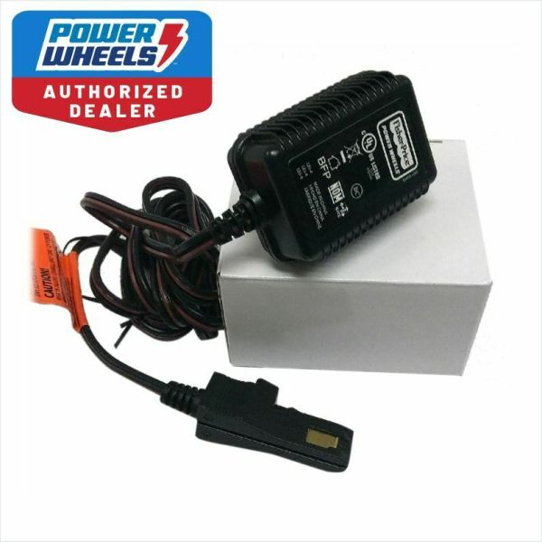 Power Wheels Fisher 12 Volt 12v Grey Battery Charger 00801-0638 Genuine
