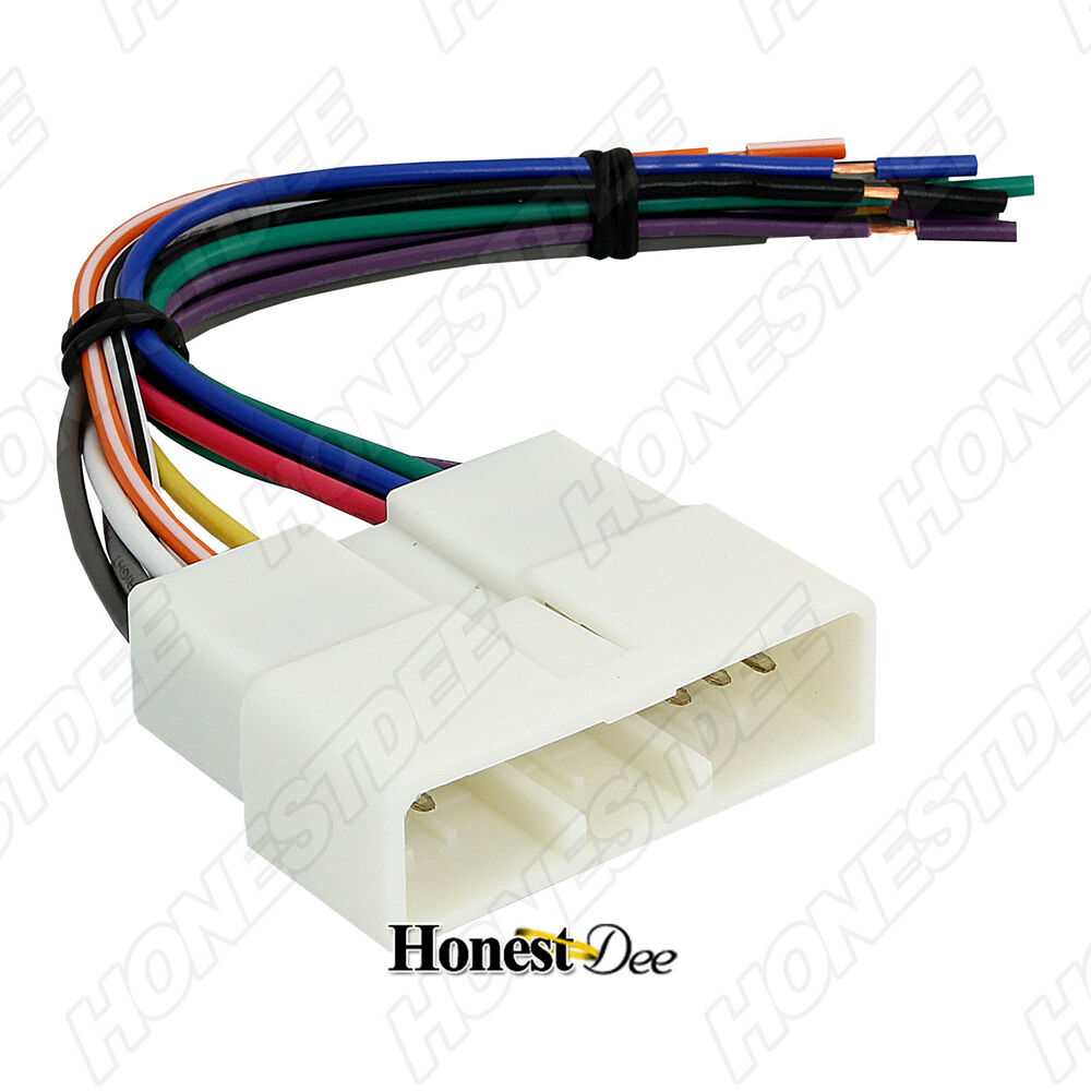 hight resolution of aftermarket car stereo radio to honda wiring wire harness aftermarket stereo harness for 2007 corvette aftermarket