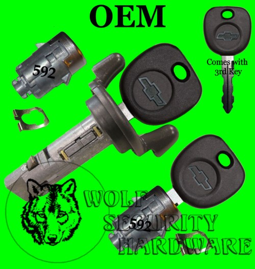 small resolution of details about chevy silverado others 2001 ignition switch lock cylinder door lock set 2 keys