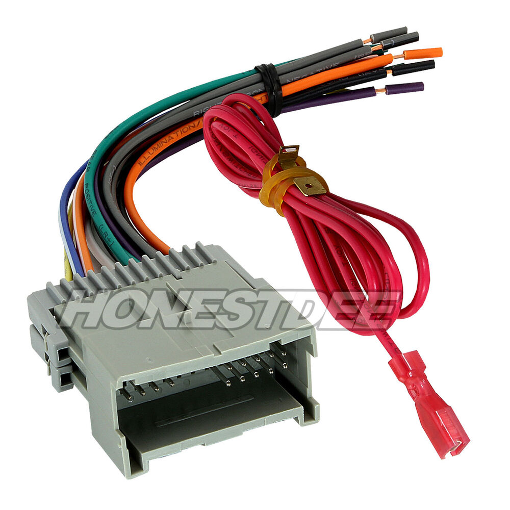 hight resolution of aftermarket car stereo radio to gmc wiring wire harness aftermarket radio wiring harness walmart aftermarket radio wiring harness for harley davidson