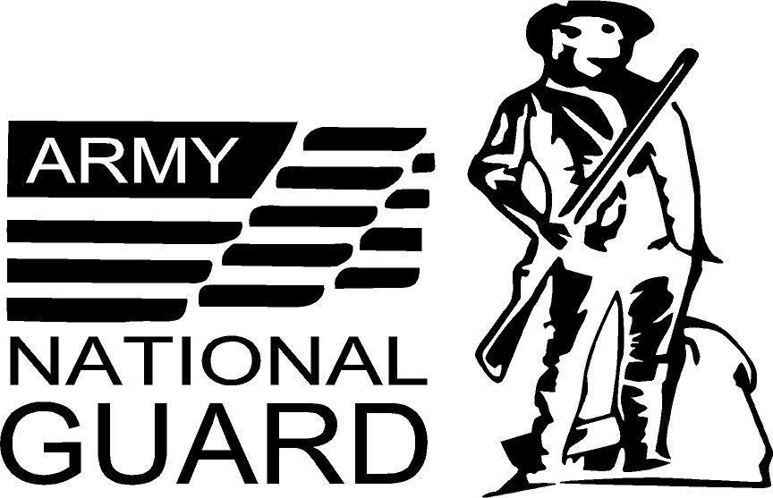 national guard army military marine navy air force VINYL