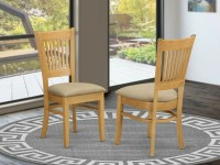 Set of 6 Vancouver dinette kitchen dining chairs with ...