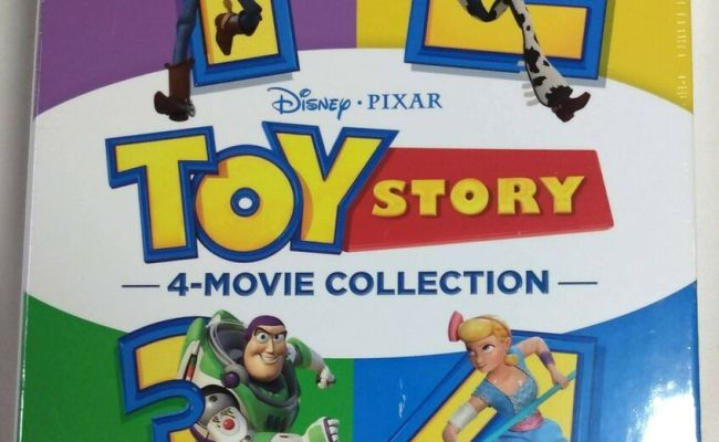Toy Story Trilogy 1 2 3 Brand New Collection Blu Ray Box