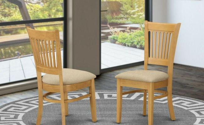 Set Of 4 Vancouver Dinette Kitchen Dining Chairs With