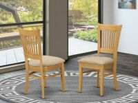 Set of 4 Vancouver dinette kitchen dining chairs with ...