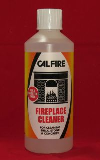 Calfire Fireplace Cleaner - Soot & Tar Remover - For Brick ...
