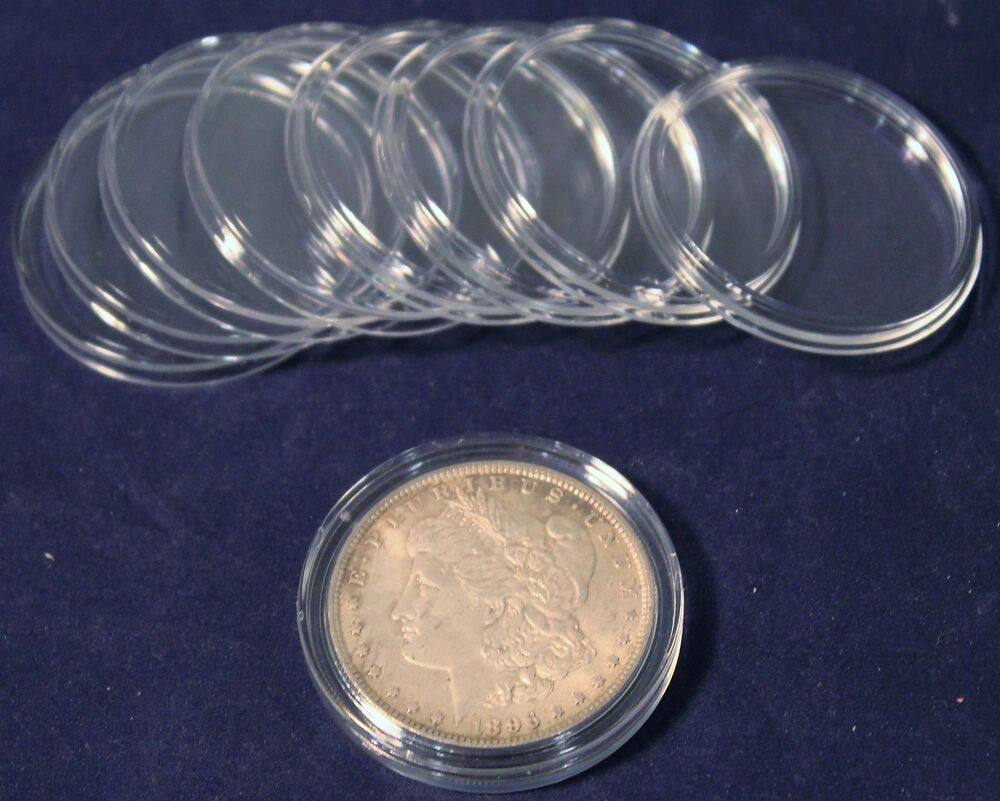 25 Direct Fit Guardhouse Coin Capsule Holders for Peace