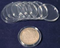 25 Direct Fit Guardhouse Coin Capsule Holders for Peace ...