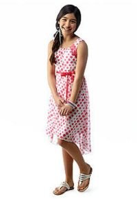 Speechless Polka Dot High-Low Chiffon Dress - Size 8 NWT ...