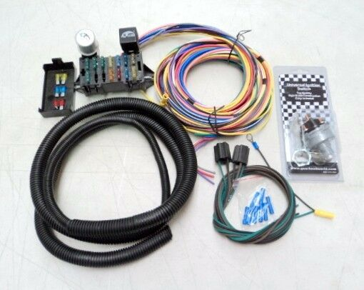 Universal Wiring Harness With Fuse Box Vw Dune Buggy Sand Rail Baja