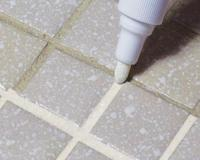 TILE WHITE GROUT PEN WHITENER RESTORER REVIVER KITCHEN ...