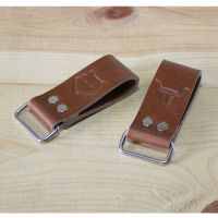 Leather Work Belt Loop Holder_Men's Belt Tape Measure