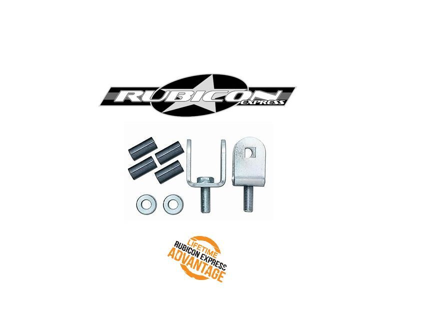 Rubicon Express Front Sway Bar Link Adapters 97-06 Jeep TJ