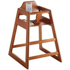 High Chair Restaurant Toddler New Style Wooden Assembled 400010022960 Ebay Details About