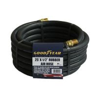 "Good Year 25' x 1/2"" Air Hose Rubber 25ft Compressed Air ..."