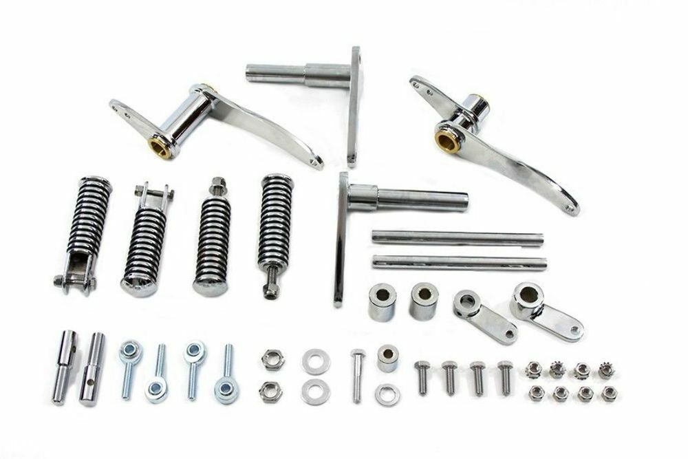 Chrome Forward Controls Control Kit Shift 1977-78 Ironhead