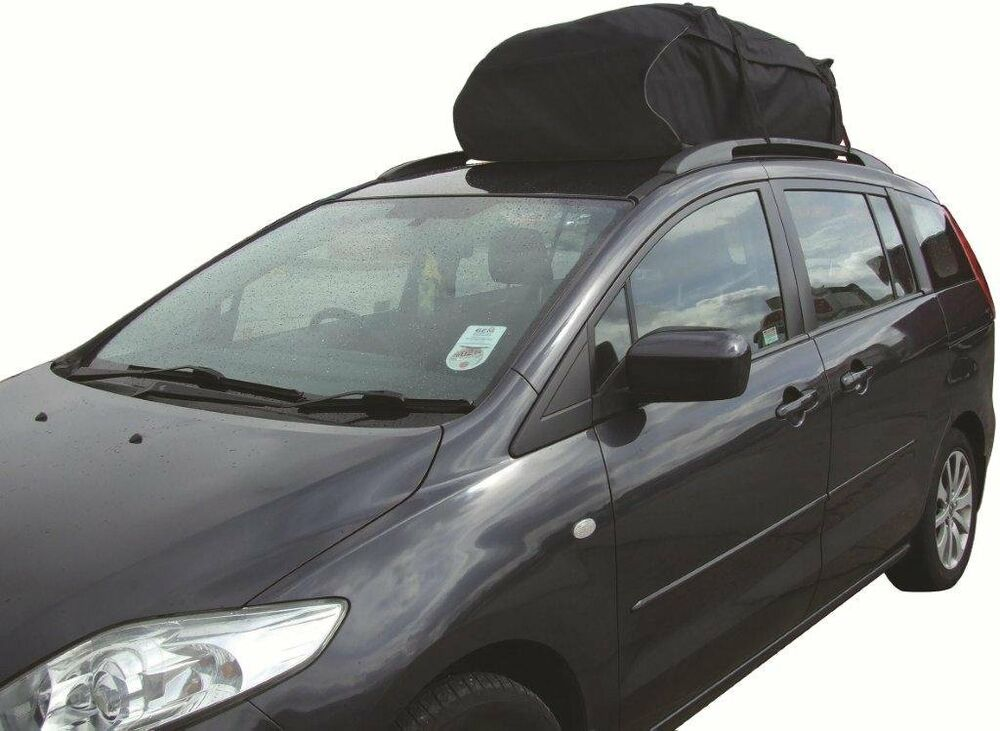 car EASY FIT roof rack cargo bag LARGE aerodynamic folding
