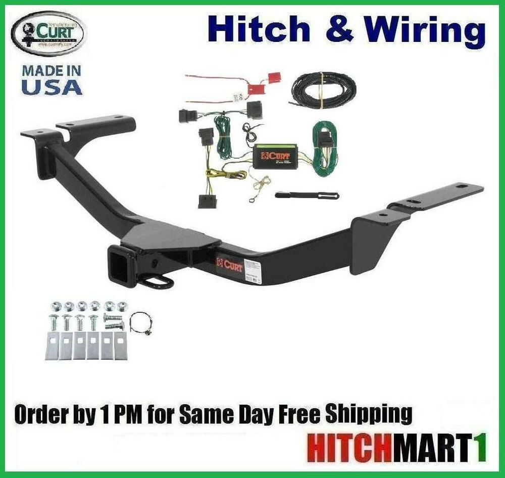 hight resolution of details about class 3 curt trailer hitch wiring for 2007 2010 ford edge 13067