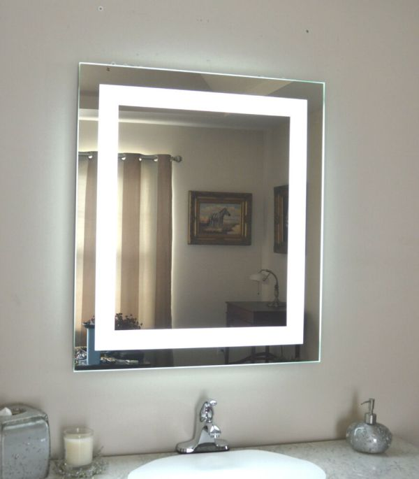 LED Lighted Wall Vanity Mirror