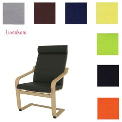 Poang Chair Cushion Replacement Swivel Office Custom Made Cover, Slipcover, Fits Ikea Chair, 29 Choice | Ebay