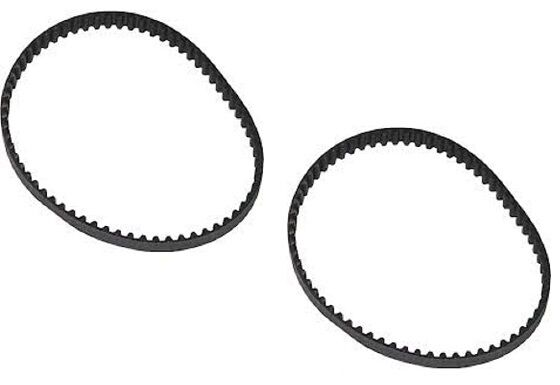 (2) 8733 Rotary Mower Cogged Belt Set Compatible With