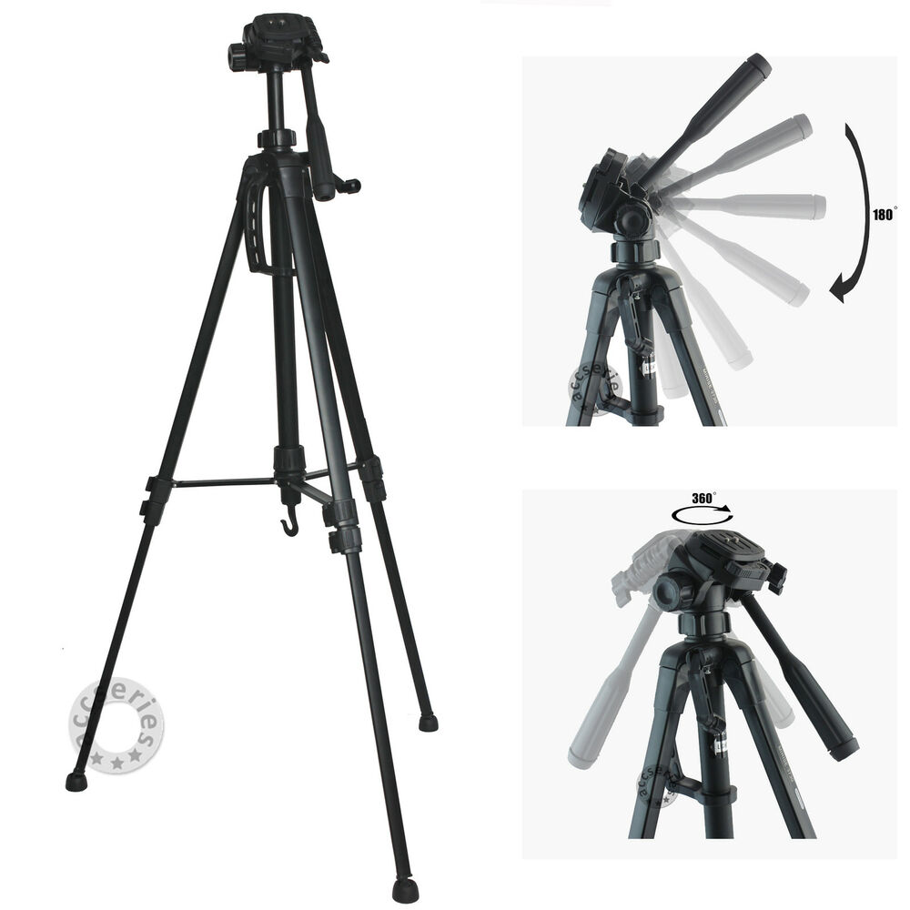 1.4m 55in Universal camera camcorder tripod stand for