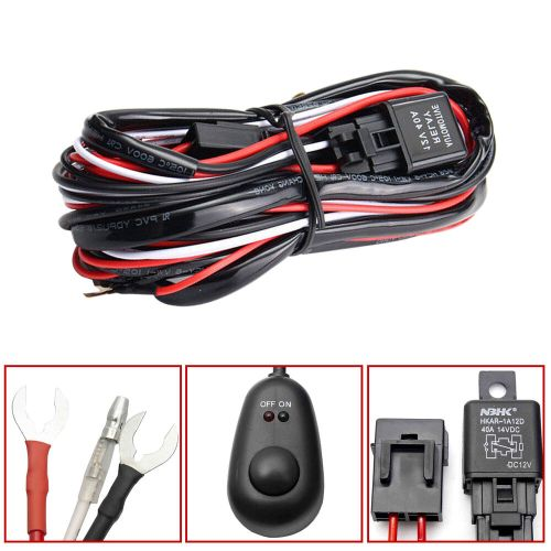 small resolution of universal relay harness wire kit led on off switch for 1998 f150 fog light wire diagram